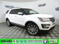 Certified 2017 Ford Explorer Limited SUV