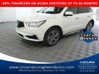Certified 2018 Acura MDX w/Technology Pkg in Greensboro NC
