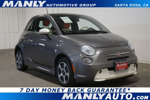 Photo Used 2013 FIAT 500e BATTERY ELECTRIC Battery Electric Coupe
