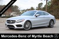Certified Used 2017 Mercedes-Benz C-Class Coupe For Sale in Myrtle Beach, South Carolina