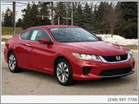 Pre-Owned 2014 Honda Accord LX-S Coupe For Sale in Shelby MI