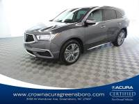 Certified 2017 Acura MDX w/Technology Pkg in Greensboro NC