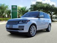 Certified 2016 Land Rover Range Rover HSE in Houston
