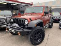 2014 Jeep Wrangler Unlimited 4x4 Willys Wheeler Edition 4dr SUV