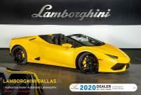 Used 2019 Lamborghini Huracan LP610-4 Spyder For Sale Richardson,TX | Stock# L1238 VIN: ZHWUR1ZF8KLA11845