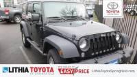 Used 2016 Jeep Wrangler JK Unlimited Sport 4X4 SUV in Springfield