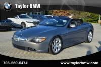 2007 BMW 6 Series 650i in Evans, GA | BMW 6 Series | Taylor BMW