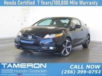 Certified 2015 Honda Civic Coupe Si