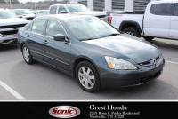 Pre-Owned 2005 Honda Accord Sedan EXLV6 AT