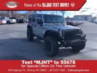 Used 2016 Jeep Wrangler Unlimited Willys Wheeler SUV