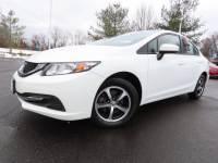 Certified 2015 Honda Civic Sedan 4dr CVT SE