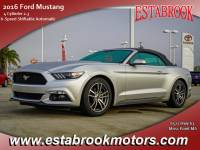 Used 2016 Ford Mustang EcoBoostPremium Convertible