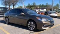USED 2017 Honda Accord Hybrid EX-L SEDAN