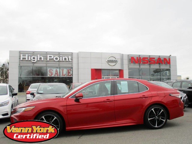 Photo Used 2019 Toyota Camry XSE V6 AutoFor Sale in High-Point, NC near Greensboro and Winston Salem, NC