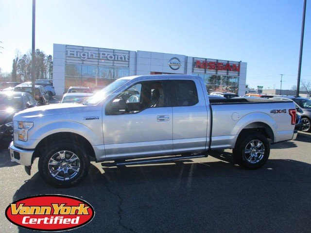 Photo Used 2017 Ford F-150 Lariat Pickup For Sale in High-Point, NC near Greensboro and Winston Salem, NC