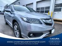 Certified 2017 Acura RDX V6 with Advance Package in Richmond VA