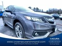 Certified 2017 Acura RDX V6 AWD with Advance Package in Richmond VA