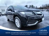 Certified 2017 Acura RDX V6 in Richmond VA