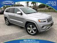 Used 2015 Jeep Grand Cherokee Overland 4x4 For Sale in Orlando, FL | Vin: 1C4RJFCG2FC607427