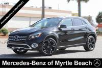 Certified Used 2018 Mercedes-Benz GLA 250 SUV For Sale in Myrtle Beach, South Carolina
