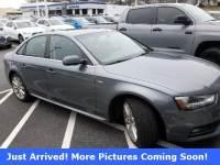 Pre-Owned 2016 Audi A4 2.0T Premium (Tiptronic) Sedan