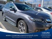 Pre-Owned 2018 Acura RDX V6 AWD with Advance Package in Richmond VA