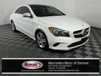 Pre-Owned 2017 Mercedes-Benz CLA 250 4MATIC Coupe in Denver