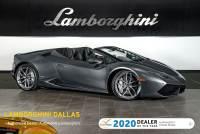 Used 2016 Lamborghini Huracan Spyder For Sale Richardson,TX | Stock# LC618 VIN: ZHWUR1ZFXGLA05066