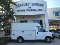 2007 Chevrolet Express Commercial Cutaway C6Y SRW Utility Truck Storage and Shelves