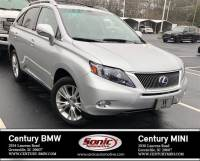 Pre-Owned 2011 LEXUS RX 450h AWD 4dr Hybrid SUV in Greenville, SC