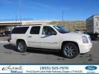 2013 GMC Yukon XL 1500 Denali SUV V8 16V MPFI OHV Flexible Fuel