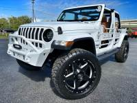Used 2019 Jeep Wrangler Unlimited CUSTOM LIFTED WHITE-OUT SAHARA LEATHER NAV