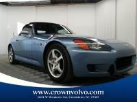 Used 2002 Honda S2000 Base For Sale   Greensboro NC   2T000727
