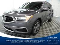 Certified 2019 Acura MDX w/Technology Pkg in Greensboro NC