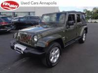 Used 2015 Jeep Wrangler Unlimited Sahara 4x4 in Gaithersburg