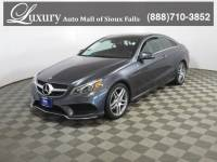 Pre-Owned 2016 Mercedes-Benz E-Class E 400 4MATIC Coupe for Sale in Sioux Falls near Brookings
