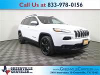 Used 2018 Jeep Cherokee Latitude SUV