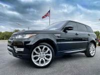 Used 2016 Land Rover Range Rover Sport V6 HSE SUPERCHARGED PANO BLACK/BLACK SPORT