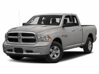 2018 Used Ram 1500 Big Horn 4x4 Quad Cab 64 Box in Bright Silver Metallic Clearcoat For Sale in Moline IL | P2078