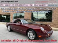Used 2004 Ford Thunderbird Premium For Sale at Paul Sevag Motors, Inc. | VIN: 1FAHP60A74Y112494