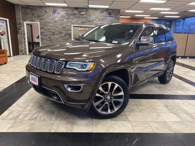 Photo 2017 Jeep Grand Cherokee Overland
