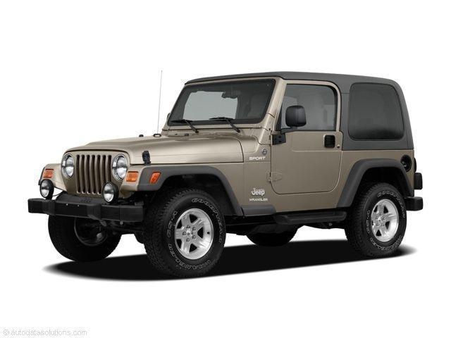 Photo Used 2005 Jeep Wrangler X SUV For Sale Near Philadelphia
