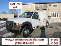 Used 2007 Ford F-550 4x4 Flatbed Truck