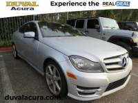 Used 2012 Mercedes-Benz C-Class For Sale in Jacksonville at Duval Acura | VIN: WDDGJ4HB8CF876847