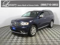 Pre-Owned 2017 Dodge Durango Citadel SUV for Sale in Sioux Falls near Brookings