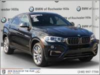 Certified Pre-Owned 2019 BMW X6 xDrive35i SAV For Sale in Shelby Township