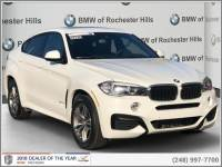 Certified Pre-Owned 2018 BMW X6 xDrive35i SAV For Sale in Shelby Township