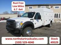 Used 2015 Ford F-450 6.7 4x4 Reg-Cab Service Utility Truck