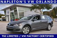 Certified Volkswagen Golf Sportwagen TSI Limited Edition in Orlando, FL