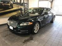 2014 Used Jaguar XJ 4dr Sdn XJL Portfolio AWD in British Racing Green For Sale in Moline IL | C19157A